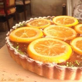 フランス産オレンジのタルト(16cm) 敬老の日・お誕生日・記念日にも♪直送もOK ★