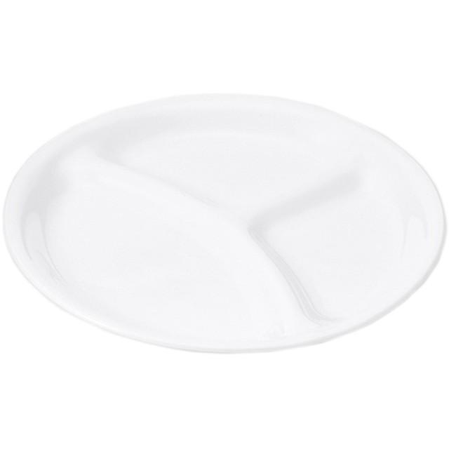 HOME COORDY CORELLE(コレール) ランチプレート ホワイト M ホームコーディ M 洋食器