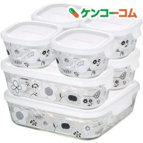 iwaki シンジカトウ パック & レンジ システムセット BLOMMA PS-PRNSND7 ( 1セット )