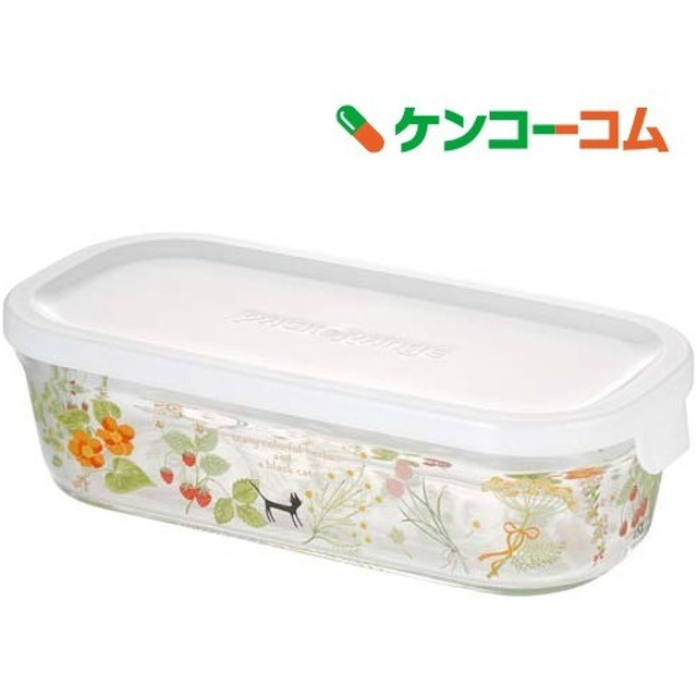 iwaki パック & レンジ (シンジカトウ /olorful herbs) 500mL B3246-SNB ( 1コ入 )
