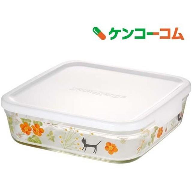 iwaki パック & レンジ (シンジカトウ /olorful herbs) 1.2L B3248-SNB ( 1コ入 )