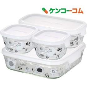 iwaki シンジカトウ パック & レンジ システムセット・ミニ BLOMMA PS-PRNSND4 ( 1セット )
