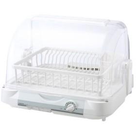 コイズミ 食器乾燥器 樹脂カゴ KDE-5000/W ホワイト 《納期約1週間》