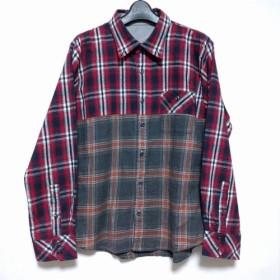 リメイクフランネルシャツ