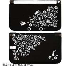 柔装飾カバー 散桜に兎【3DS LL】