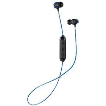 bluetooth イヤホン カナル型 ブルー HA-FX101BTA [リモコン・マイク対応 /ワイヤレス(左右コード) /Bluetooth]