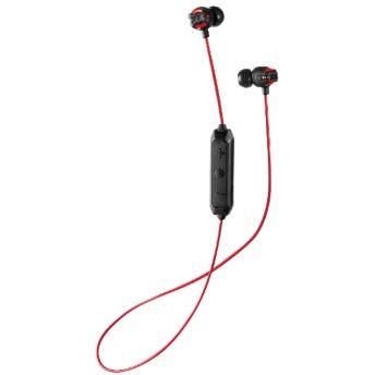 bluetooth イヤホン カナル型 レッド HA-FX101BTR [リモコン・マイク対応 /ワイヤレス(左右コード) /Bluetooth]