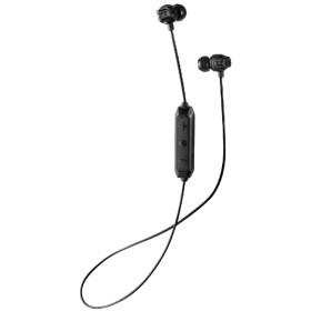 bluetooth イヤホン カナル型 ブラック HA-FX101BTB [リモコン・マイク対応 /ワイヤレス(左右コード) /Bluetooth]