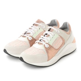 ジェオックス GEOX SNEAKERS (OFF WHITE PEACH) 7d6ce9d4e