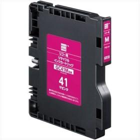 エコリカ ECI-RC41M リコー GC41M互換リサイクルインクカートリッジ マゼンタ(顔料)