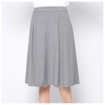 コムサイズム COMME CA ISM ピンヘッドマーメイドスカート【セットアップ対応】 (グレー)
