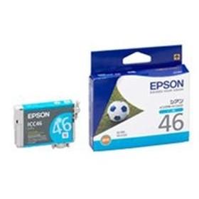 エプソンインクカートリッジシアンシアンICC46