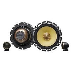 KENWOOD16cmセパレートカスタムフィット・スピーカー(2本1組)ブラックKFC-XS1603