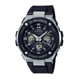 カシオソーラー電波腕時計G-SHOCKブラックGST-W300-1AJF