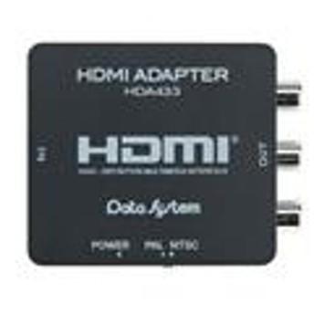 データシステムデータシステム HDMI変換アダプター(ケーブルレスタイプ)HDA433-D