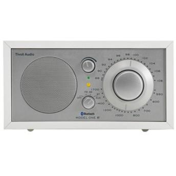 Tivoli AudioモノラルテーブルラジオModel One BTホワイト/シルバーM1BT-1770-JP