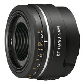 SONY単焦点レンズ DT 50mm F1.8 SAMSAL50F18