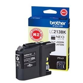 ブラザーインクカートリッジブラックLC213BK