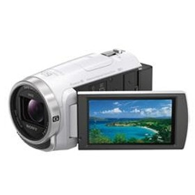 SONY64GB内蔵メモリー デジタルHDビデオカメラレコーダーハンディカムホワイトHDR-CX680 W