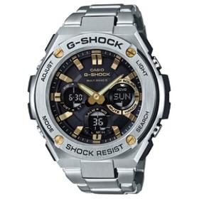 カシオソーラー電波腕時計G-SHOCK G-STEELゴールドGST-W110D-1A9JF