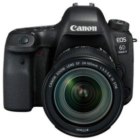 キヤノンデジタル一眼レフカメラ・24-105 IS STM レンズキットEOS 6D Mark IIEOS6DMK224105ISSTMLK