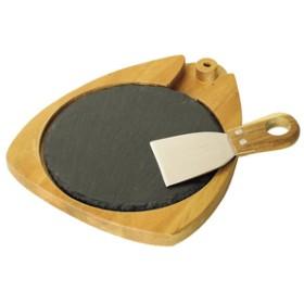 スパイスNEW DAY チーズラウンドスレートボード&ナイフセットSTANDARD LIFE-NEW DAYナチュラルLVLR2039