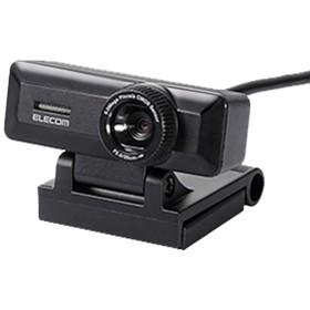 エレコム高精細Full HD対応500万画素WebカメラブラックUCAM-C750FBBK