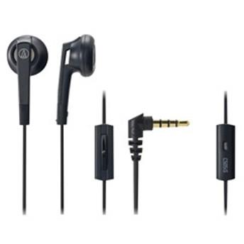 オーディオテクニカスマートフォン用インナーイヤーヘッドフォンブラックATH-C505ISBK