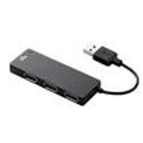 エレコムUSBハブ/3ポート+microSDスロット/バスパワーブラックU2H-SMC4BBK
