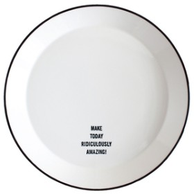 スパイスTODAY`S MAKE PLATE 26cm WHITESTANDARD LIFE-MAKE TODAYホワイトJYA689WH