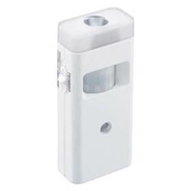 ツインバード停電センサーLEDサーチライト/赤外線センサー付ホワイトLS-8559W