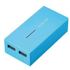 エレコムスマートフォン・タブレット用モバイルバッテリーブルーDE-M01L-6030BU