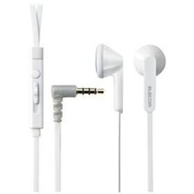 エレコムスマートフォン用ステレオヘッドホンマイク(インナーイヤータイプ)ホワイトEHP-IS3510MWH