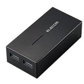 エレコムスマートフォン・タブレット用モバイルバッテリーブラックDE-M01L-6030BK