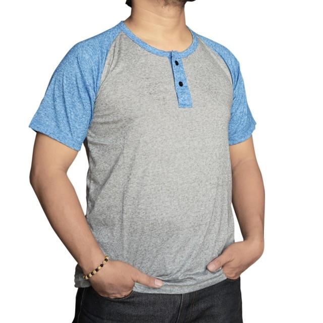 Muscle Fit T-Shirt Polos Kombinasi Lengan Pendek: Rp 119.800 Rp 59.800