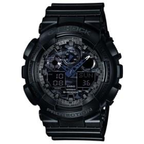 カシオ腕時計G-SHOCKブラックGA-100CF-1AJF