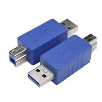 変換名人USB3.0変換プラグ A(オス)-B(オス)USB3AA-BA