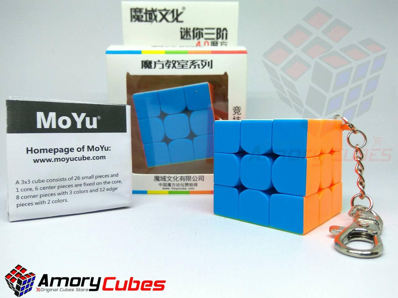 Amory Kids Shop Line Rubik  3x3 Jual Moyu Mini Stickerless 40cm Murah