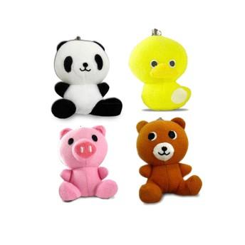 台灣製100分貝超高音動物造型防身警報器 四款可選 (小熊/熊貓/小鴨/小豬)
