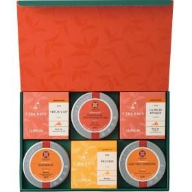 返品・キャンセル不可 ルピシア お茶6種のバラエティセット 23720057 食料品 紅茶 代引不可