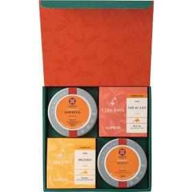 返品・キャンセル不可 ルピシア お茶4種のバラエティセット 23720055 食料品 紅茶 多品種セット 代引不可