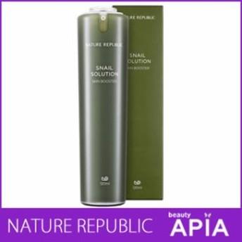 NATURE REPUBLIC (ネイチャーリパブリック) - スネイル (カタツムリ) ソリューション スキン ブースター (Snail Solution Skin Booster)