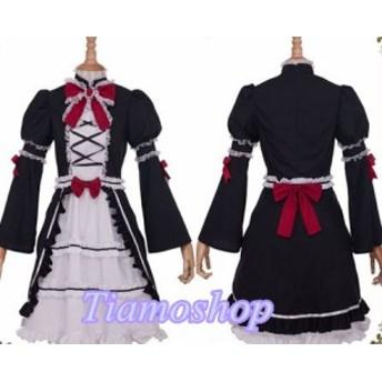 極黒のブリュンヒルデ    橘 佳奈  風 ★コスプレ衣装 完全オーダメイドも対応可能  K3305