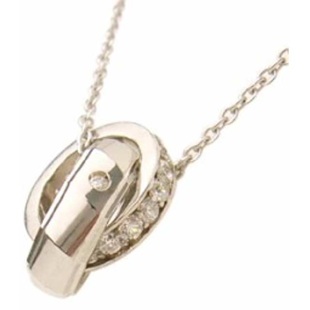 d8b2cf8e49cac3 with me リングペアネックレス Lady's (ロジウムコーティング) 【ネックレス】【necklace】