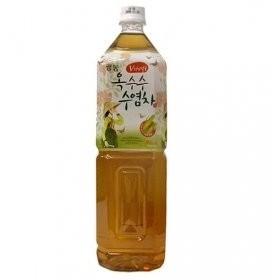 ガンドン コーンヒゲ茶(PET/1.5L)★カロリーゼロ/トウモロコシヒゲ茶 / 韓国飲み物/コーンヒゲ/お茶/コーン茶/飲み物