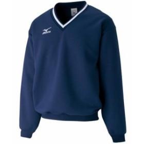 ミズノ(MIZUNO) V首 スウェットシャツ A75LM25014 【テニスウェア メンズ レディース 冬物 防寒】