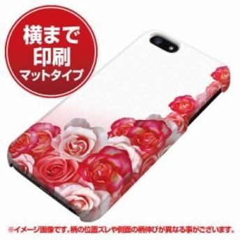 iPhone5 / iPhone5s 共用 ハードケース (docomo/au/SoftBank)【まるっと印刷 299 薔薇の壁 マット調】 (アイフォン5/ケース/カバー)