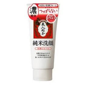 美人ぬか 純米洗顔石鹸 135g <洗顔フォーム>濃密泡洗顔
