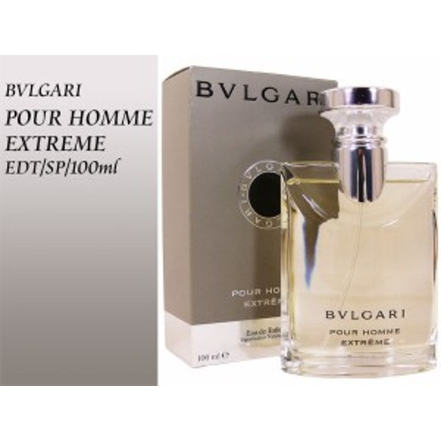 the latest 8b71b 91549 ブルガリ プールオム エクストレーム POUR HOMME EXTREME EDT/SP ...