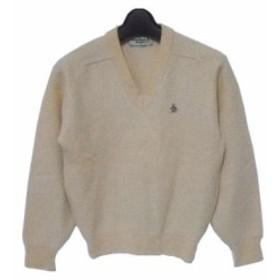 vintage Munsing「Grand Slam」Vネックニットセーター (V neck knit sweater) マンシング グランドスラム■【中古】